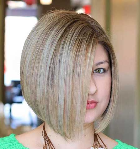 Short Haircuts for Round Faces - 18