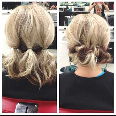 Short Easy Updo Hair
