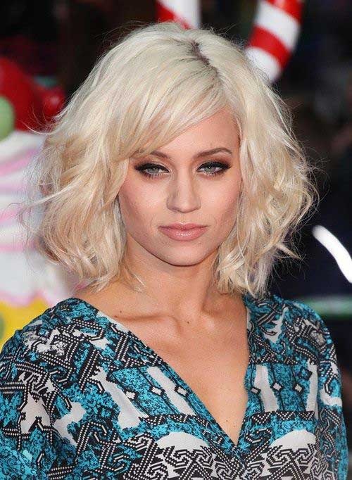 Short Curly Blonde Hair - 30