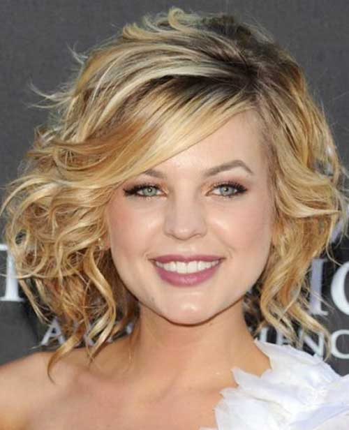 Short Curly Blonde Hair - 6