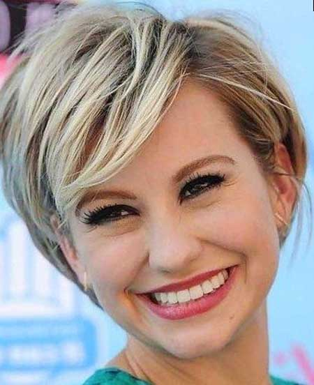 Short Haircuts for Round Faces - 6