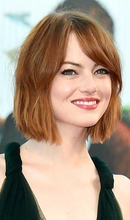 Short Haircuts for Round Faces - 7
