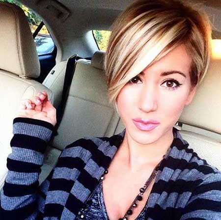 Short Hairstyles for Oblong Faces - 7