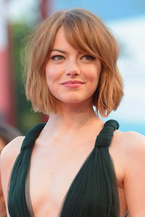 Blunt Bob Hairstyles With Bangs