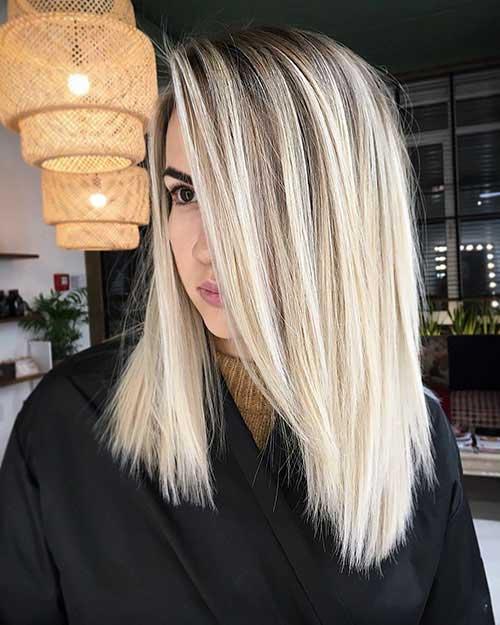 Long Bob Cut Hairstyle