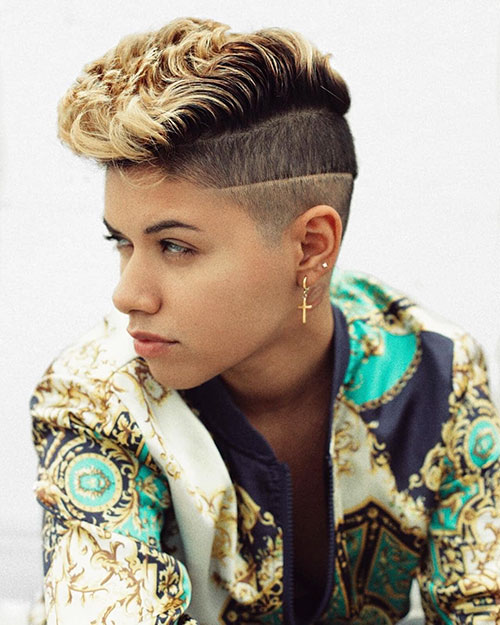 Shaved Hairstyles For Short Hair