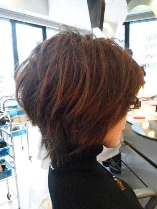 Short Shag Haircut Ideas