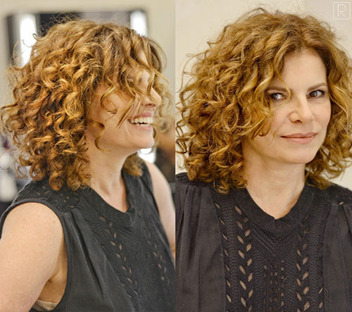 Pictures Of Short Curly Hair