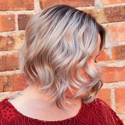 Short Medium Hair Cut