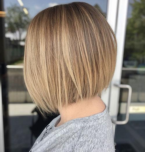 Medium Short Hair Style