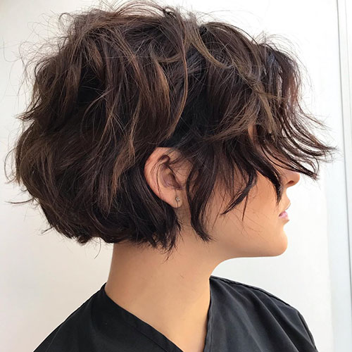 Shag Short Haircuts For Women