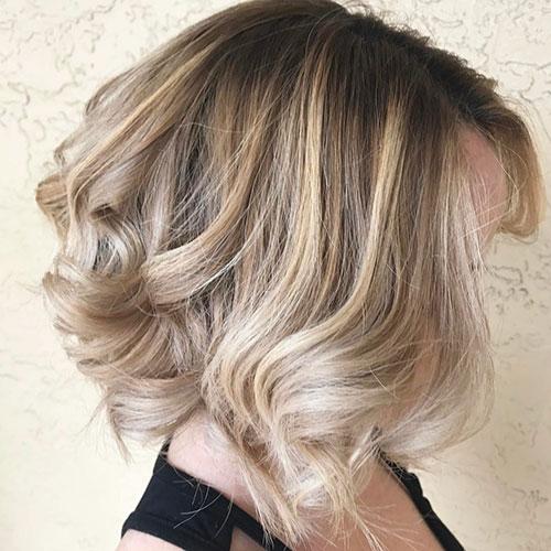Short To Medium Hair Styles