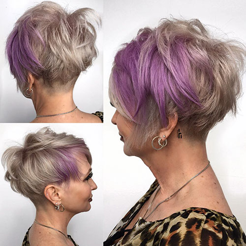 Images Of Short Shag Hairstyles