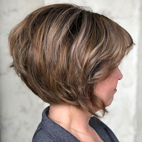Short Hairdos For Thick Hair