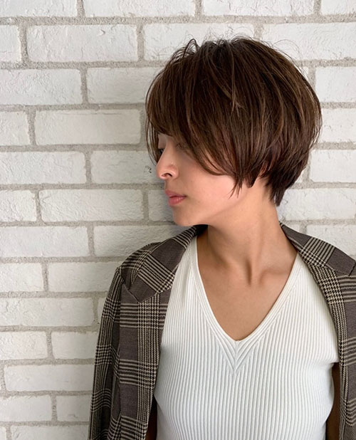 Short Hairstyle Ideas For Asian