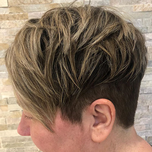Images Of Short Choppy Hairstyles