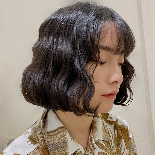 Short Haircut Pictures For Asian