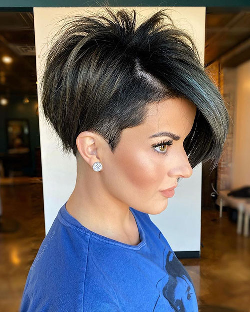 Pictures Of Sexy Short Haircuts
