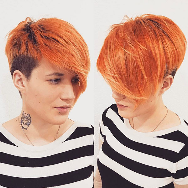 Pixie Red Hair Color
