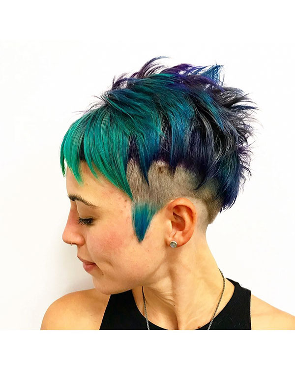 Pixie Punk Hair