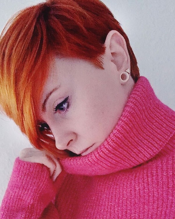 Pixie Cut And Red Hair