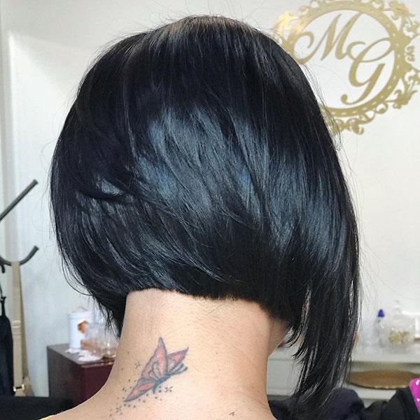 Inverted Layered Bob Hairstyles
