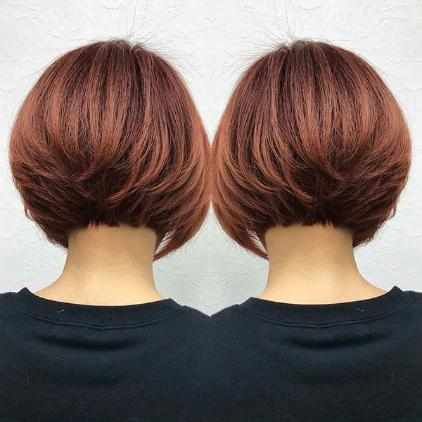 Good Layered Inverted Bob Haircut Pictures
