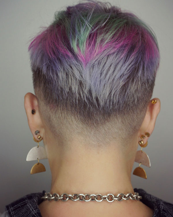 Pixie Punk Hairstyle Pictures