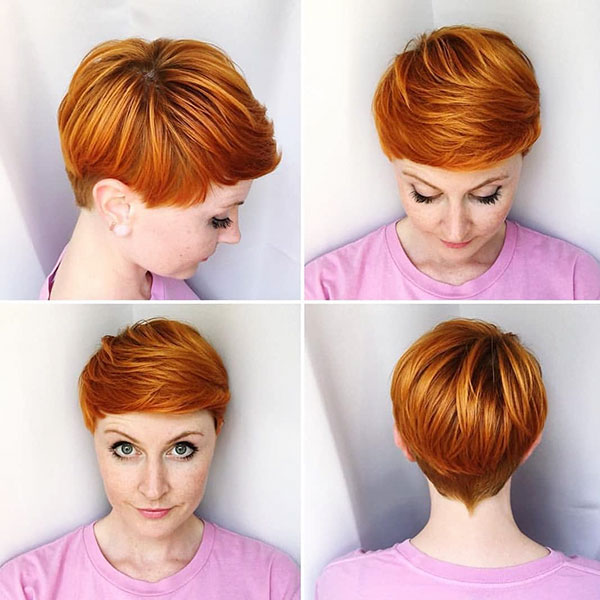 Pixie Cuts For Red Hair