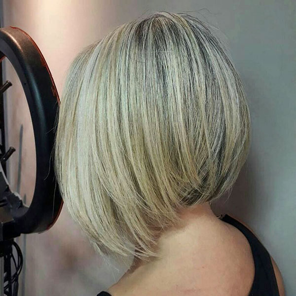 Layered Inverted Bob Hairstyles