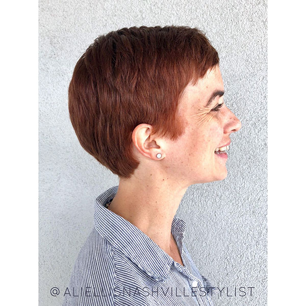 Pics Of Red Pixie Hairstyles