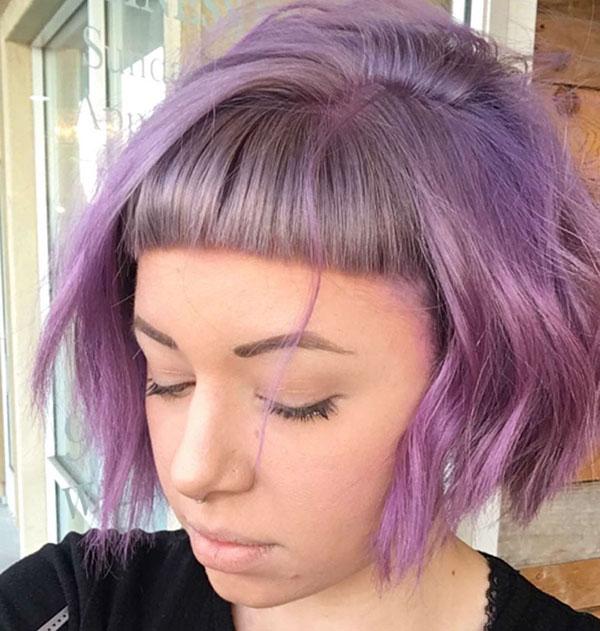 Pics Of Short Hair With Bangs