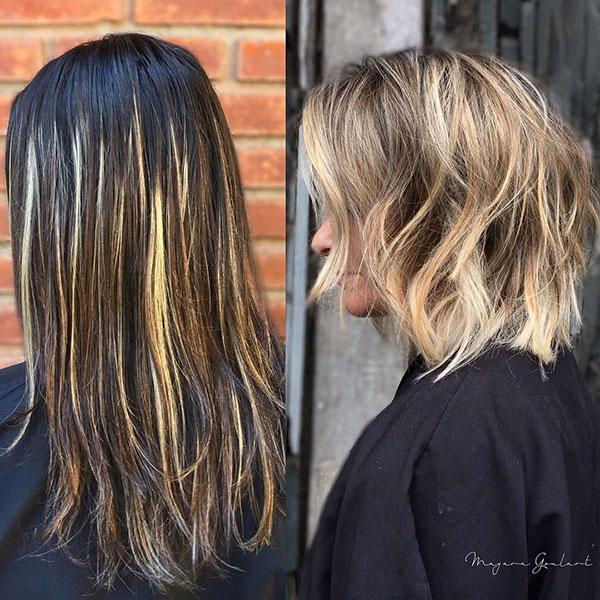 Short Layered Haircut Ideas