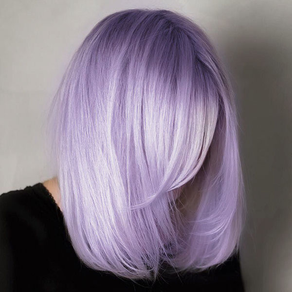 Pictures Of Short Violet Hair