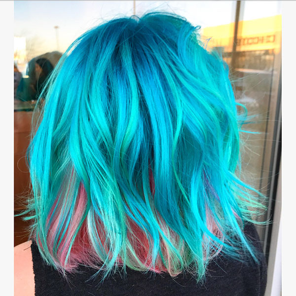 Short Mermaid Hair Ideas