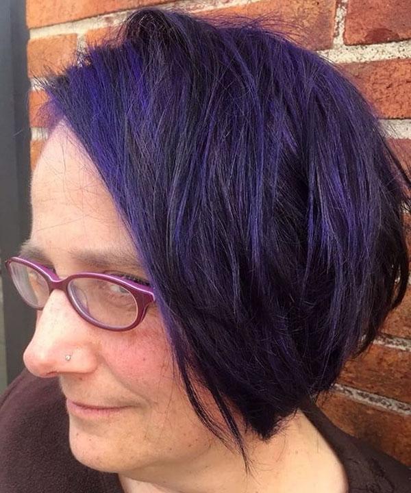 Violet Short Hair