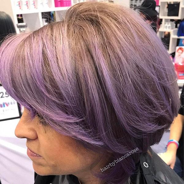 Violet Short Hairstyles