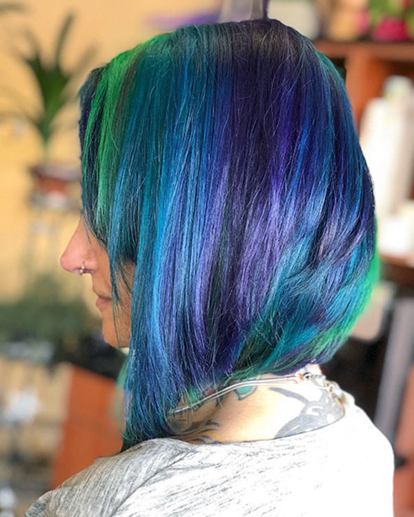 Short Mermaid Hairstyles