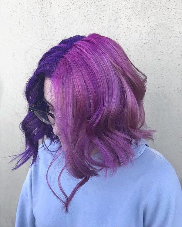 Short Violet Hair