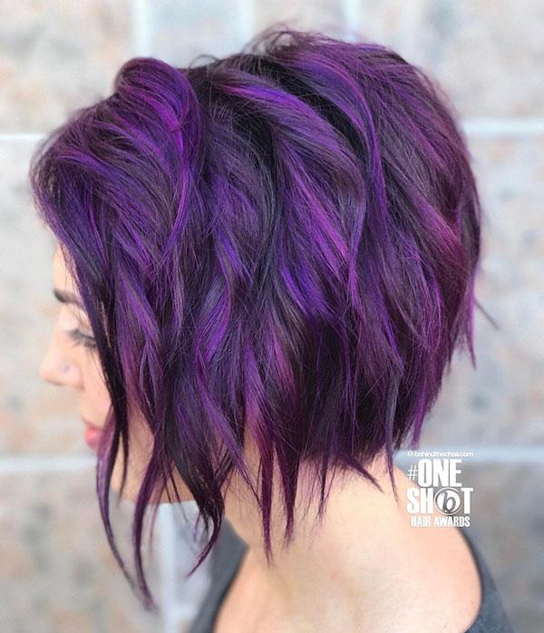 Short Violet Styles