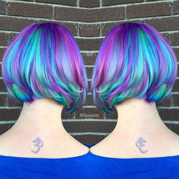 Mermaid Short Hair