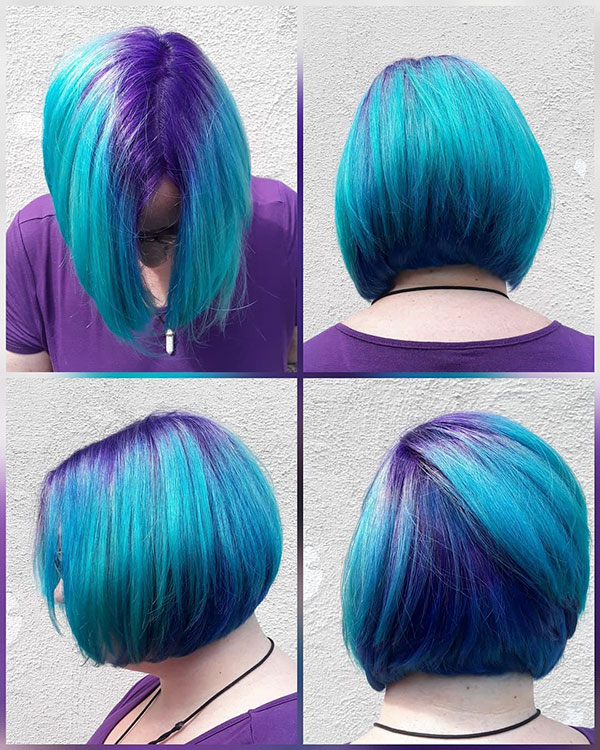 Short Haircuts For Mermaid Hair
