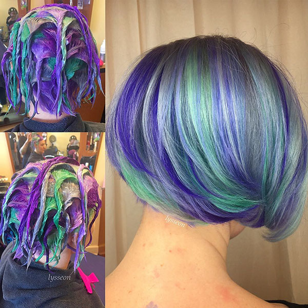 Pictures Of Short Mermaid Hair