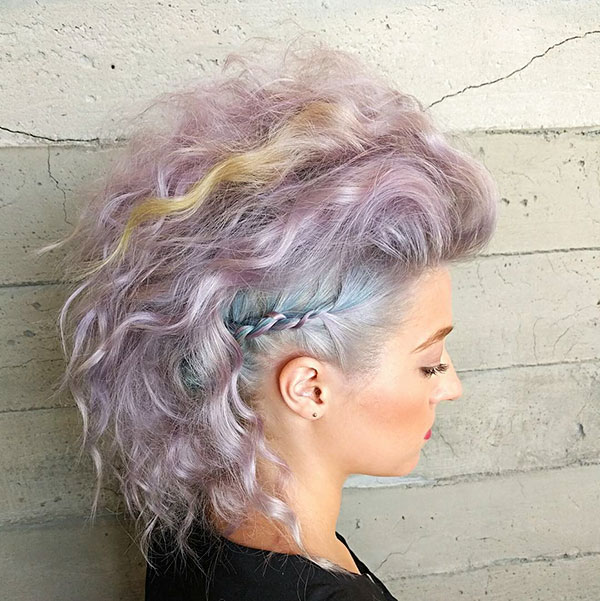 Short Hairstyle For Wedding Party