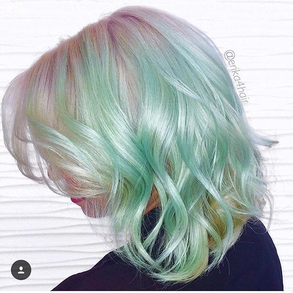 Short Haircuts For Green Hair