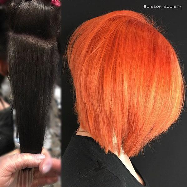 Short Vibrant Hair Ideas