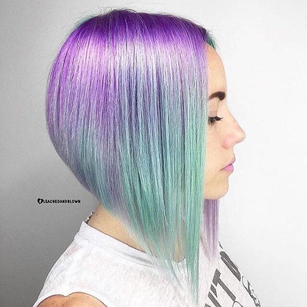 Short Vibrant Hairstyles