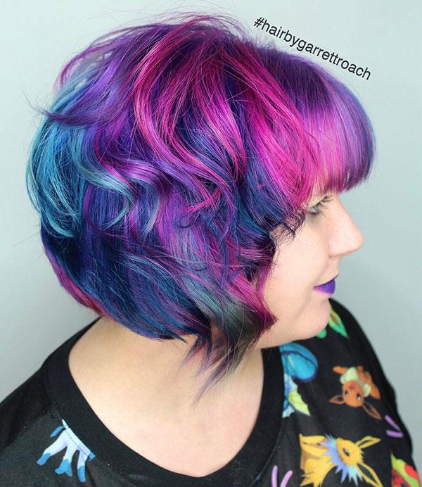 Vibrant Short Hair