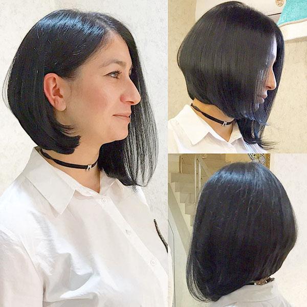 Short Vibrant Hair Examples