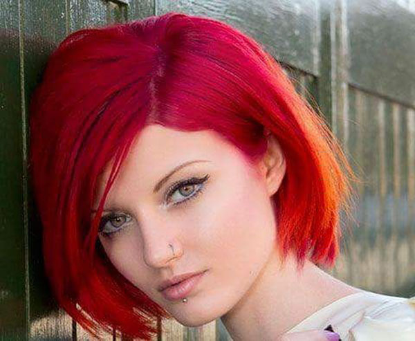 Images Of Short Vibrant Hair
